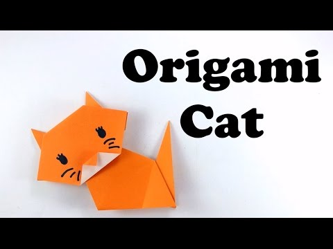 Xxx Mp4 Cute And Easy Origami Cat Tutorial For Beginners Origami Animal DIY Paper Cat 3gp Sex