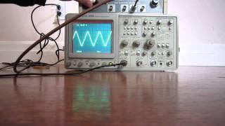 Tektronix 2465 Analog Oscilloscope Channel 1