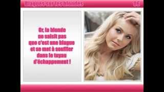 Top blague sur les blondes