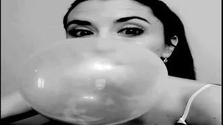 Blowing Bubble Gum Bubbles #392