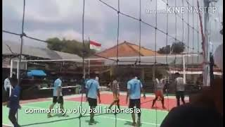 Turnamen kampung pemain volly cirebon