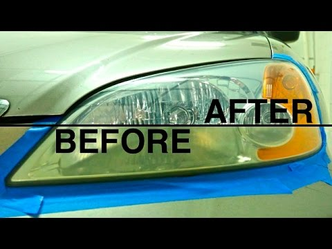 How to Fix Foggy Headlights 3 Different Methods