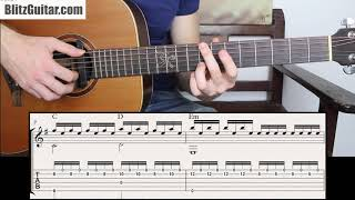 Use this Badass Melody in E minor to Improve Fingerstyle Technique.