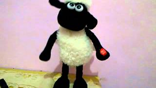shaun the sheep doll