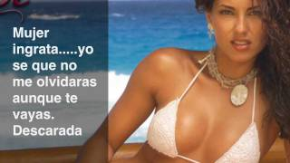 La Descarada - Reyli Barba (Letra) HD