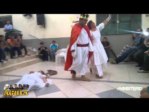 Teatro sobre Arrebatamento A Colheita Volta de Jesus Ministério Águia Teatro Cristão