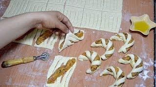 فطائر راقية محشوة بشكل جديد رائعة ورطبة أهش من القطن بدون بيض وبدون حليب / شهيوات رمضان
