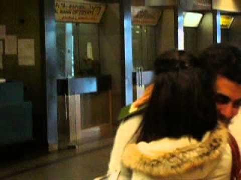 استقبال ياسمين تازى نجمة ستار اكاديمى فى مطار القاهرة