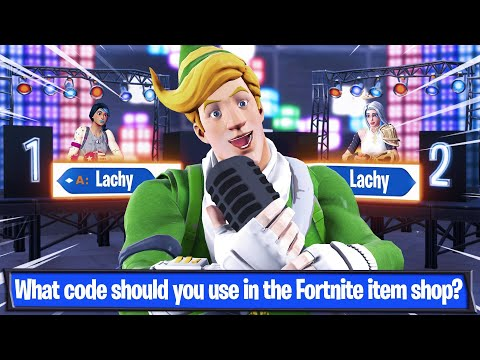 Welcome To My Fortnite Quiz Gameshow