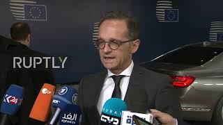 Belgium: EU FMs address Azov Sea incident, Iran situation ahead of meeting