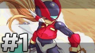 Megaman Zero 4 - Part 1 - Intro and Area Zero [HD]
