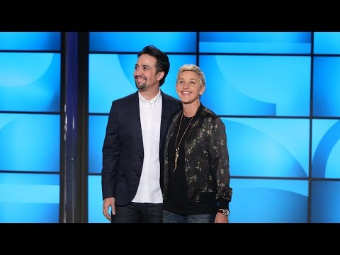 Lin Manuel Miranda Busts Out Rhymes with Ellen