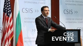 Statesmen's Forum: H.E. Daniel Mitov, Foreign Minister of Bulgaria
