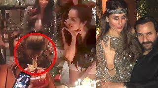 Kareena Malaika And Other Celebrate A RAUNCHY Birthday Party For Amrita Arora Khan