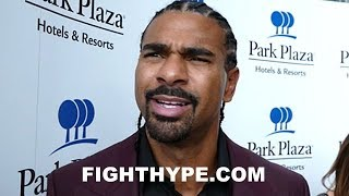 DAVID HAYE GIVES ADVICE TO CHRIS EUBANK JR.; REACTS TO GEORGE GROVES WIN