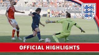 Switzerland Women 0-4 England Women | Official Highlights