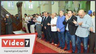 تشييع جنازة عم الإعلامى إيهاب طلعت بحضور العائلة والأصدقاء