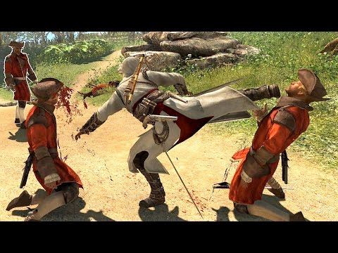 Assassin's Creed 4 Black Flag Altair`s Outfit Combat & Finishing Moves