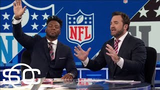 Jeff Saturday goes off on Bills' complaining about overturned TD vs. Patriots | SportsCenter | ESPN