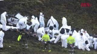 Confirman cinco sobrevivientes de accidente aéreo en Colombia