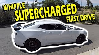 Whipple Supercharger First Drive 16-18 Camaro SS - Drive with Lethal | S3: EP2