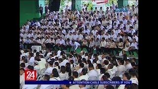 24 Oras: Mga opisyal ng barangay, nais ni Pres. Duterte na armasan bilang pangtulong laban sa krimen