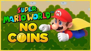 Is it possible to beat Super Mario World without touching a single coin?