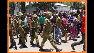 Polisi wapambana na CHADEMA  waliotaka kumwombea TUNDU LISSU
