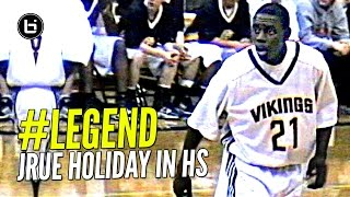 Jrue Holiday Was a LEGEND In High School! Up 70 Points By End of 3rd Quarter & Near Triple Double!