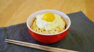 Trick Recipes : Eggs over Rice Bread なんちゃって卵かけご飯パン TKGパン