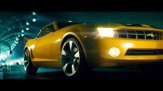 Transformers - Bumblebee transforms into new Camaro, whole clip, HD 720p