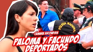 Cámara Escondida a Paloma Fiuza y Facundo Gonzales | Damian y El Toyo