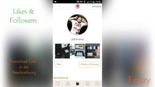 New 2017 unlimited Instagram Followers and Likes hack free german/deutsch