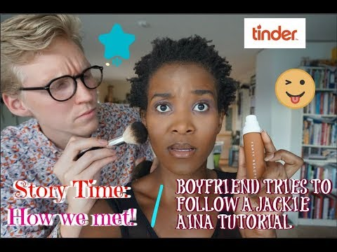 Xxx Mp4 Boyfriend Follows Jackie Aina Tutorial While We Do A STORYTIME Of HOW WE MET 3gp Sex
