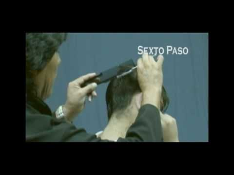 04 CORTE CABALLERO PASO A PASO AMARANTO OLIVOS ESTILISTAS PARTE 1