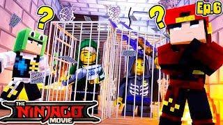 Minecraft LEGO NINJAGO - RESCUING LLOYD GARMADON?!!!