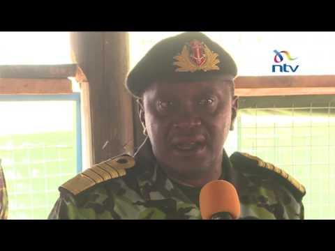 Xxx Mp4 President Kenyatta Visits Kenyan Soldiers In Dhobley Somalia 3gp Sex