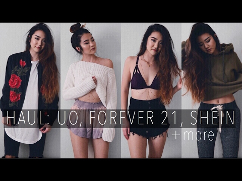HUGE HAUL: UO, Forever 21, SHEIN, VS | March 2017