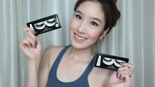 My fav eyelashes of all time - ขนตาคู่โปรดของจีนซื้อที่ไหน, กาวที่ใช้