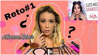 Siguiendo tutorial de maquillaje de Gabriela Zegarra💋/ RETO#1 con XIMENA ZALZER 🎥🔴