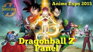 DRAGON BALL Z: RESURRECTION F Movie Panel [Anime Expo 2015]