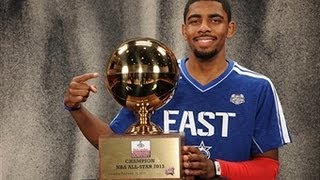 Kyrie Irving Wins the 2013 Foot Locker 3-Point Contest