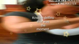 Kristine Delfino /Christina Carter my experience just to be friends