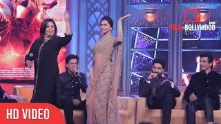 Funny Dance   Deepika Padukone   Shahrukh Khan   Happy New Year