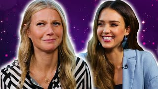 Gwyneth Paltrow And Jessica Alba Share Life Advice