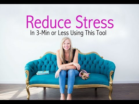 Reduce Stress With This Powerful Tool 1 Step To Reducing Stress Now