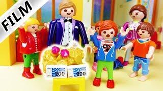 Playmobil Film Deutsch - DAS REICHE KIND! KIRA IN JULIAN VERLIEBT? Kinderfilm Familie Vogel