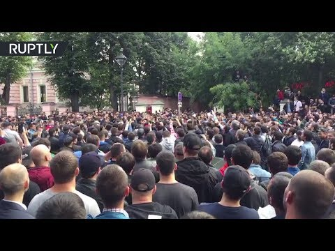 Xxx Mp4 RAW Moscow Muslims Gather In Front Of Myanmar Embassy In Solidarity With Rohingya 3gp Sex