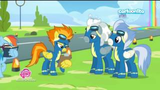 [ITALIAN] My Little Pony SCENA COMPLETA: Rainbow dash imita le Mane 6 (s 6 ep 7) [HD]