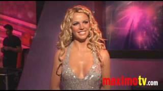 Britney Spears HOT IN WAX